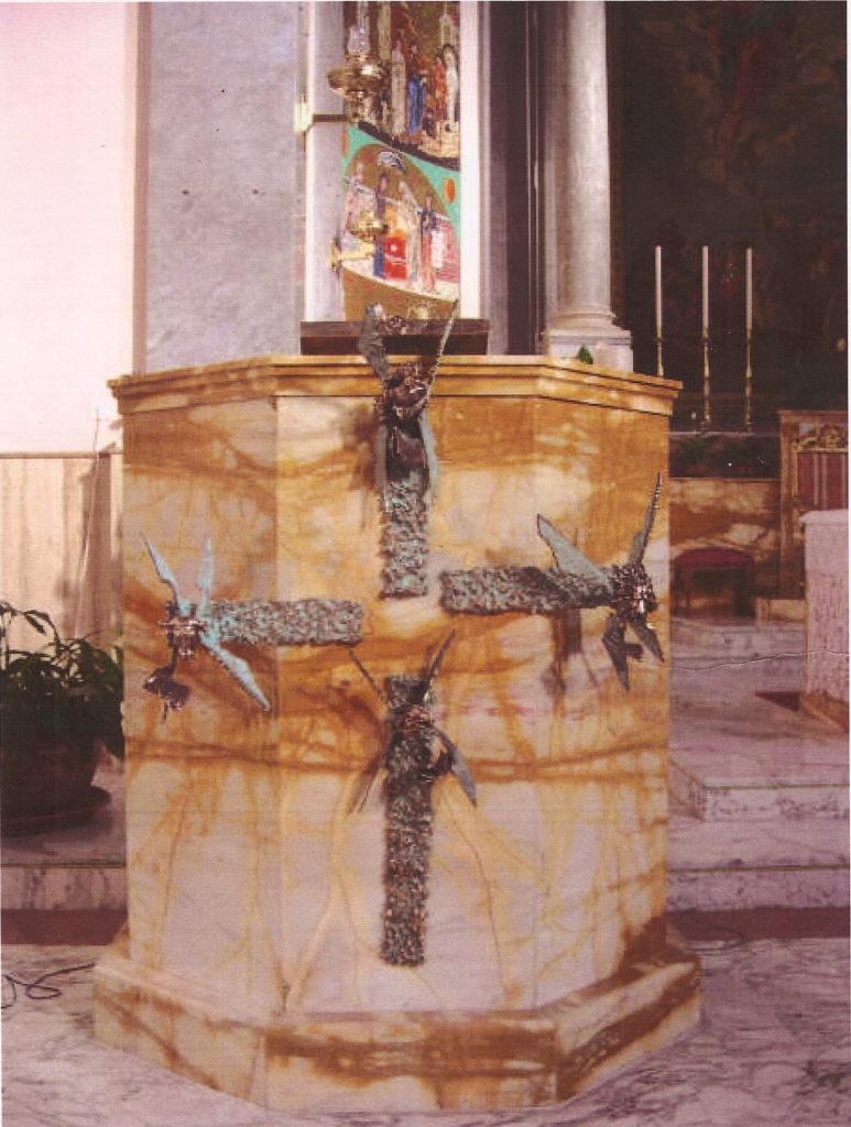 Ambone Santa Maria dell'Assunta Roma