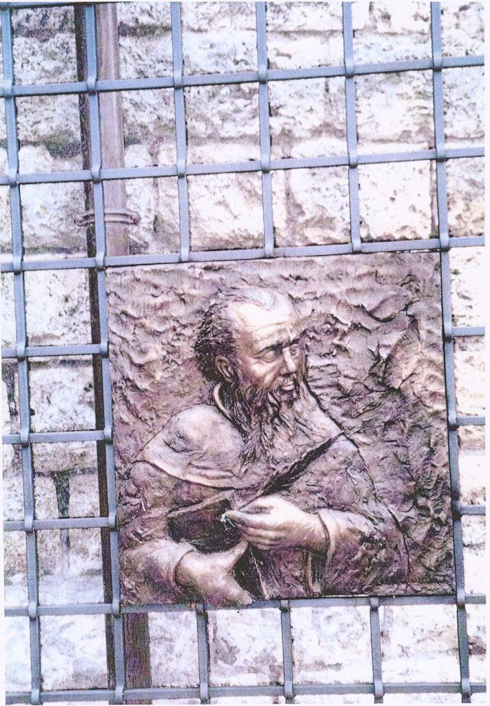 Bassorilievo San Benedetto Subiaco