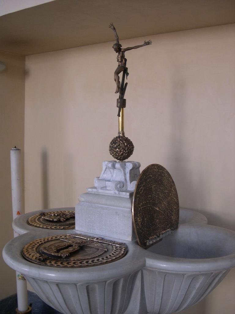 Fonte battesimale Parrocchia N. Sig, di Guadalupe Roma