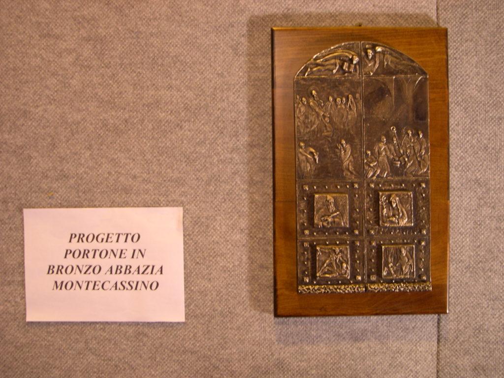 Progetto portone Montecassino