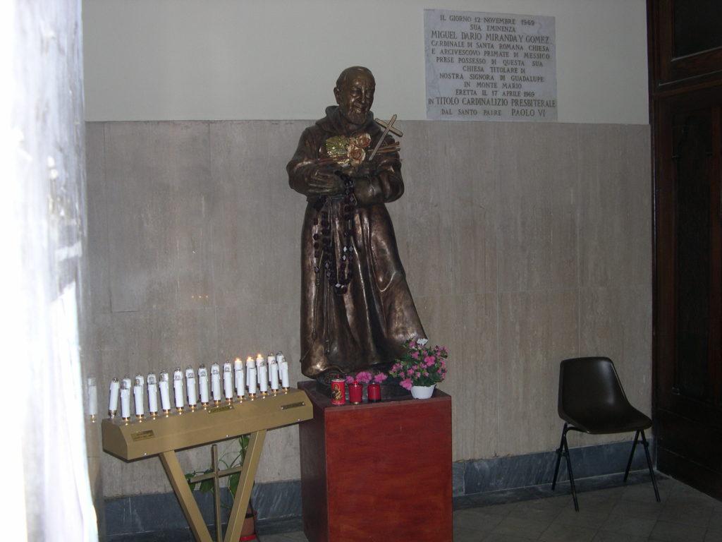 San Pio Parrocchia N.S. di Guadalupe Roma