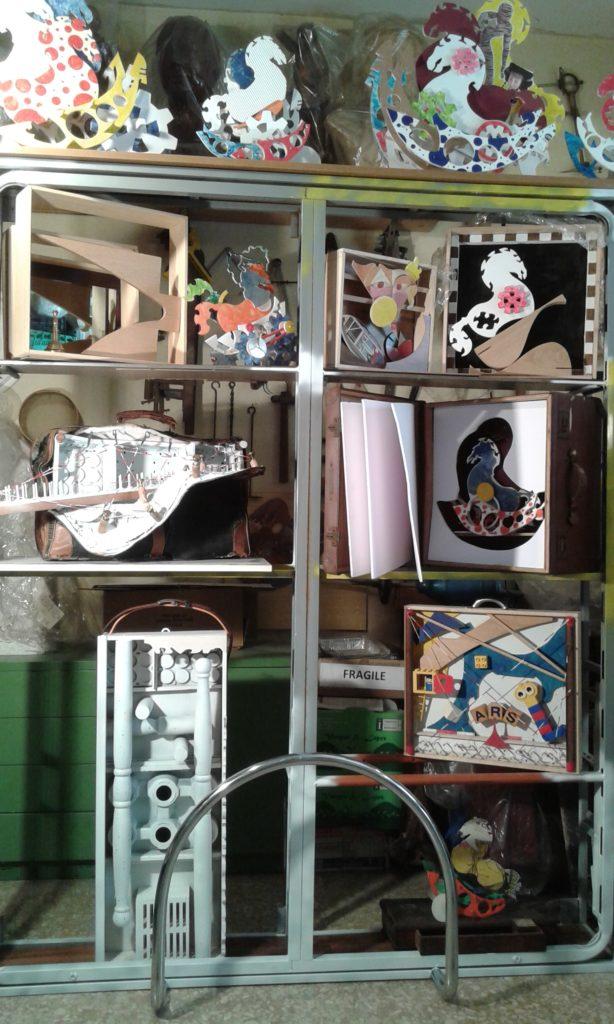 Installazione. Innesto di valigie (2)