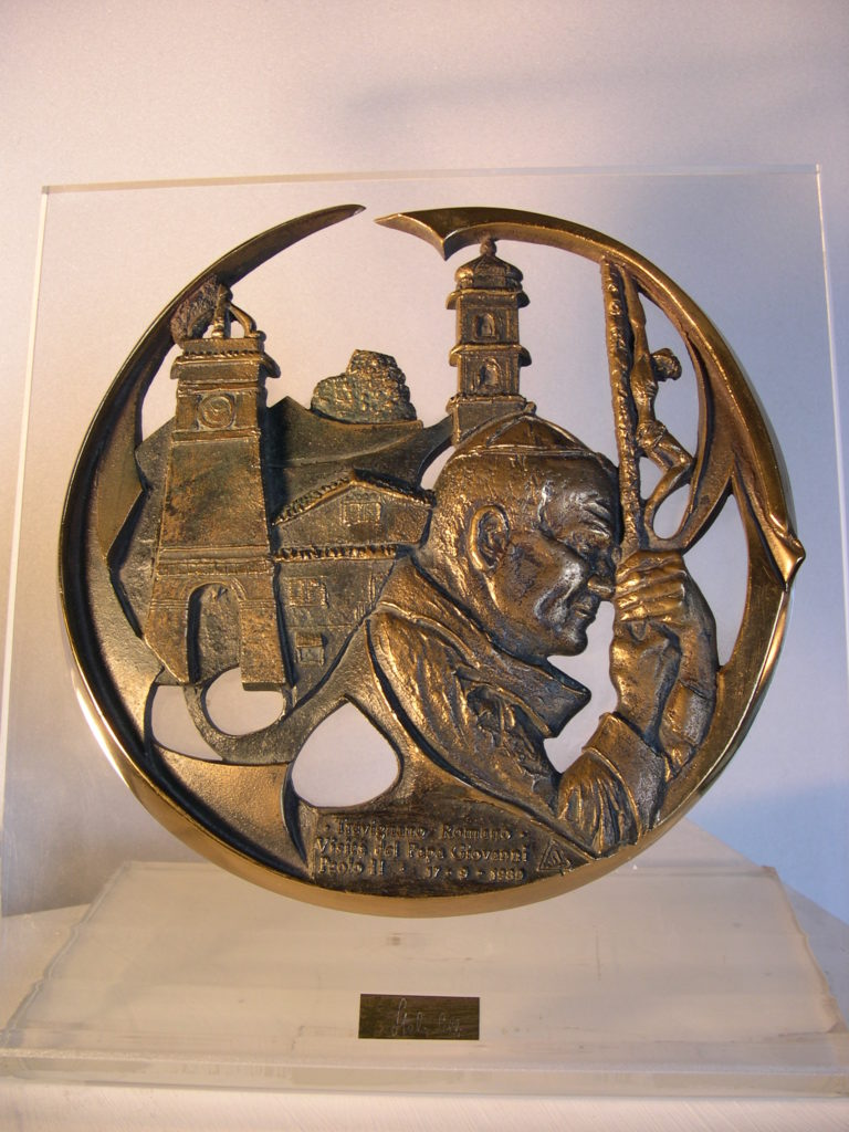 Papa Giovanni Paolo II a Trevignano Romano